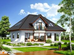 projekt Dom w awokado Stylizacja 6 Home Fashion, Gazebo, Sweet Home, Construction, Outdoor Structures, Mansions, Architecture, House Styles, Home Decor