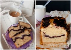 Loaf Cake de Moras Tiramisu, Drinks, Hot, Ethnic Recipes, Food Recipes, Cuisine, Colorful, Blackberry, Pop Of Color