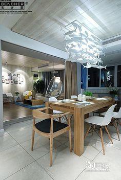 Simple fashion IKEA Dining room living room chandelier creative