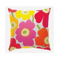 Pieni unikko cushion cover 50x50 cm, Mix from Marimekko. Design by Maija Isola & Kristina Isola. #Easter #royaldesign #marimekko #cushion