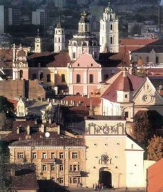 Vilnius, Lithuania. A truly historic, charming city.