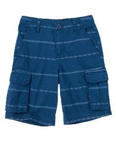 Product Code : C8XX-00007 Item Description : Blue Tribal-printed Shorts    藍色民族圖案短褲  Size : 5 (Ages 4-5 ) Price : HK$160 Whatsapp : (+852) 6924-3068
