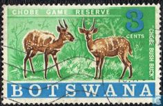 Postage Stamps - Botswana [BWA] - Chobe Game Reserve