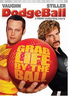 Dodgeball - SO funny. Whyte Goodman (Ben Stiller's hideous comedy gym-owner) is the funniest Ben Stiller character ever. Very silly. Very funny.