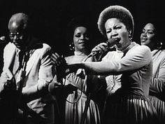 """The Staple Singers were an American gospel, soul, and R&B singing group. Roebuck """"Pops"""" Staples the patriarch of the family, formed the group wi. Music Icon, Soul Music, Music Music, Music Genre, Music Radio, The Staple Singers, Mavis Staples, The Last Waltz, Soul Singers"""