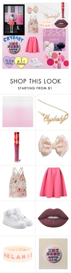 """CRYBABY"" by paigetaylor123 ❤ liked on Polyvore featuring Clinique, Lime Crime, Bailey 44 and NIKE"