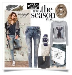 """""""It was the season"""" by annevangemert on Polyvore featuring mode, Maryley, Circle Of Trust, Paperself, Old Navy en ESPRIT"""
