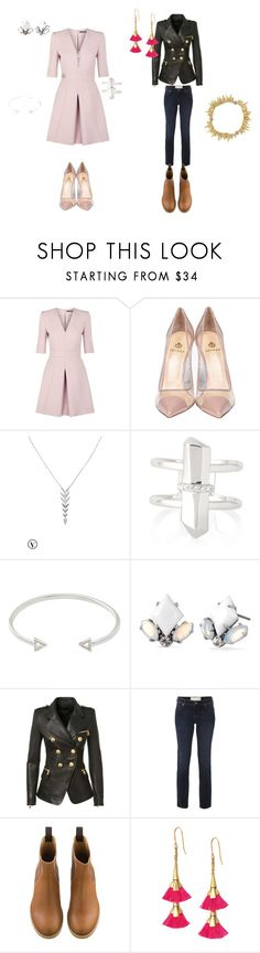 """morpho-style"" by harmonie-conseillere-en-image on Polyvore featuring mode, Alexander McQueen, Semilla, Stella & Dot, Balmain, White Stuff, women's clothing, women, female et woman"
