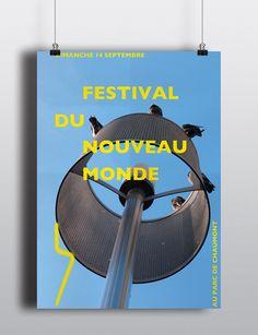 Affiche Festival du Nouveau Monde 2014