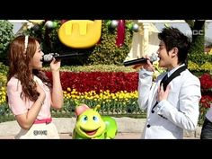 ▶ Yo-seop and Eun-ji - Love Day (Music Core 20120407)