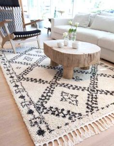 Nomad Tang Cream & Black Rug by Atlas Flooring. Get it now or find more All Rugs at Temple & Webster. Black Rug, White Rug, Room Rugs, Rugs In Living Room, Morrocan Rug, Moroccan, Sisal Carpet, Rug Inspiration, Cheap Rugs