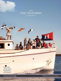 Welcome aboard for Tommy Hilfiger SS 2013. / #VoyageSeafarius #fashion #sea