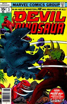 Cover for Devil Dinosaur (Marvel, 1978 series) #3