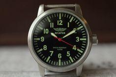 POLJOT Watch /Soviet watch /Military Watch/ Mens Watch /Russian watch/ AVIATOR watch /Mechanical watch/ serviced watch