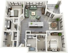 Apartment layout idea