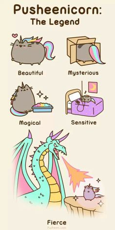 Pusheen: Pusheenicorn, The Legend