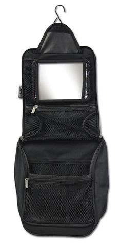 Black Hanging Cosmetic Case   $30   #DDAccessories #CosmeticCase