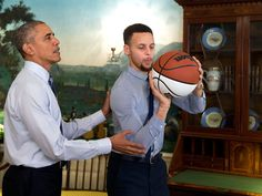 """The Mentorship"" feat. POTUS and Steph"