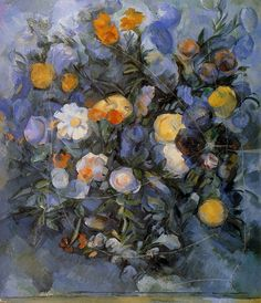 Paul Cezanne. Flowers.