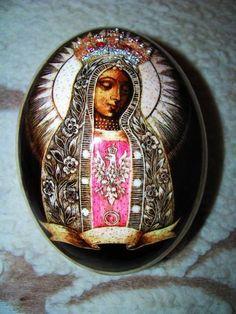 Matka Boża Licheńska -pisanka
