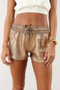 Bronze Earth Shorts SABO SKIRT www.saboskirt.com