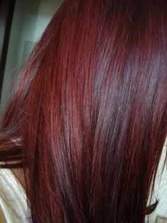 Jean's Color Deep Red By Alfaparf Milano. I want to dye my hair this color ..