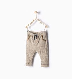 Drawstring trousers-Trousers-Baby boy-Baby   3 months - 3 years-KIDS   ZARA United States
