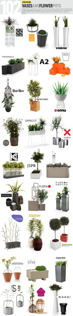 Archiproducts Focus on vases and flower pots #outdoor www.edilportale.com/newsletter/164480