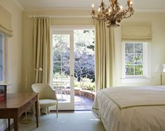 curtain/shade combo for different size windows - white rod