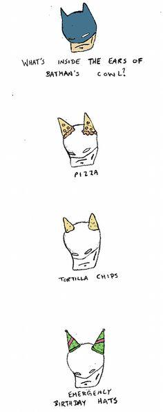What's Inside The Ears Of Batman's Cowl?