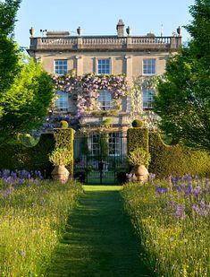 English country house meadow garden. HIGHGROVE ~ England