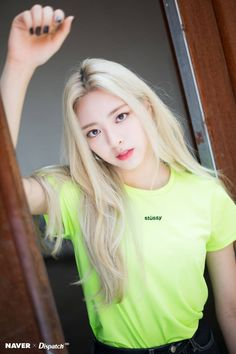 ITZY Yuna - 'IT'z ICY' promotion photoshoot by Naver x Dispatch. Kpop Girl Groups, Korean Girl Groups, Kpop Girls, K Pop, New Dj, Queen, New Girl, South Korean Girls, Mamamoo