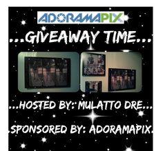 @adoramapix @mulattodre #giveaway #enter2win #photosonmetal