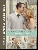 """""""Chic Couple"""" Save the Date idea from wedding paper divas"""