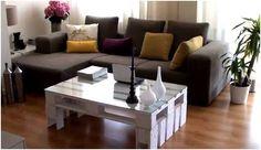Tavolino da salotto (con pallet)  Video tutorial: http://www.youtube.com/watch?v=rwyHoCDgHEw=player_embedded