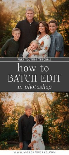 How To Batch Edit in Photoshop Morgan Burks Editing Tutorials - Image Editing - Edit image online tool. - Speed up your editing workflow by processing multiple images at once with this free tutorial that will teach you how to batch edit in Photoshop! Photoshop Art, How To Use Photoshop, Photoshop For Photographers, Photoshop Photography, Photoshop Tutorial, Photoshop Actions, Digital Photography, Photoshop Elements, Photography Business