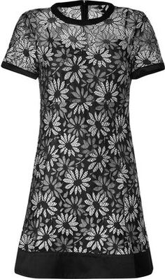 ShopStyle: Marc by Marc Jacobs Black/White Lace Lily Dress
