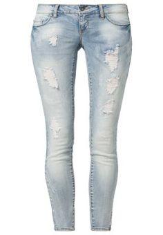 CORAL - Jeans skinny - blu