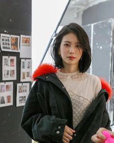 Pin by Cary Chan on 石原さとみ in 2019 & Asian cute, Asian beauty, Satomi ishihara « NOORP Kpop Short Hair, Korean Short Hair, Girl Short Hair, Short Hair Cuts, Short Hair Styles For Round Faces, Hairstyles For Round Faces, Short Hairstyles For Women, Medium Hair Styles, Short Hair Styles Asian
