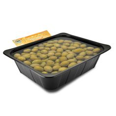IT | OLIVE VERDI GIGANTI DA APERITIVO: sono utilizzate in tutto il mondo per gli aperitivi, la loro polpa carnosa e molto saporita è particolarmente apprezzata dai consumatori.  EN | GREEN GIANT APERITIF OLIVES IN BRINE: the right olives for appetizers. mainly sold to bars and restaurants that use them for aperitis and martini cocktails.  http://www.ficacci.com/scheda.asp?id=423&idgamma=43&categ=prodotti