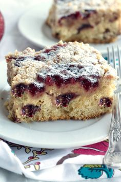 Spiced Orange & Cranberry  Streusel Cake - Erren's Kitchen