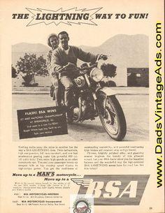 1965 BSA Lightning / Ralph White wins at Springfield, IL