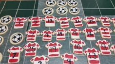 Amy's Crazy Cakes - Soccer Cookies