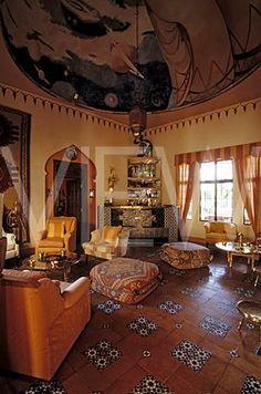 Interior Of The Djinn Palace