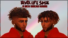 Sims 4 CC's - The Best: NEW DREAD MESHES by blvck-life-simz