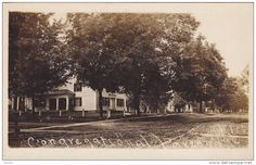 RP: Main Street & Congregational Parsonage , NEWARK VALLEY , New York , PU-1909 - Delcampe.com