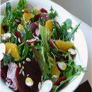 Ensalada de naranja, remolacha y rabanitos | #Recetas de cocina | #Veganas - Vegetarianas ecoagricultor.com