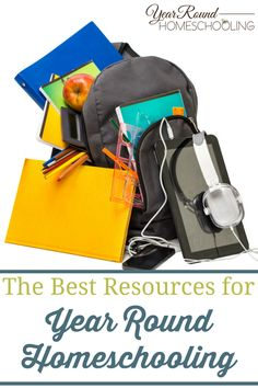 The Best Resources for Year Round Homeschooling - By Misty Leask #Resources #Help #Homeschooling