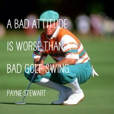 Payne Stewart is one of the all time Good Ol' Boys.  We honor him and the rest of you out there playing golf and living the good life.