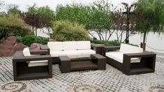 Some Ideas Of Contemporary Outdoor Furniture With Simple Design